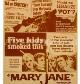 Mary Jane Sepia Print