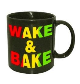 Wake & Bake Ceramic Mug - 22 oz