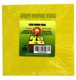 """Lock Down Pads Square Adhesive Protectors 6"""" (8)"""