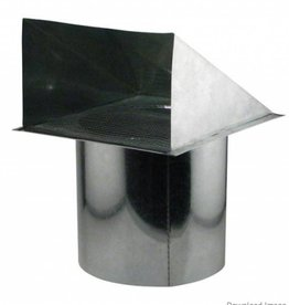 Ideal Air Ideal Air Screened Wall Vent 8 in