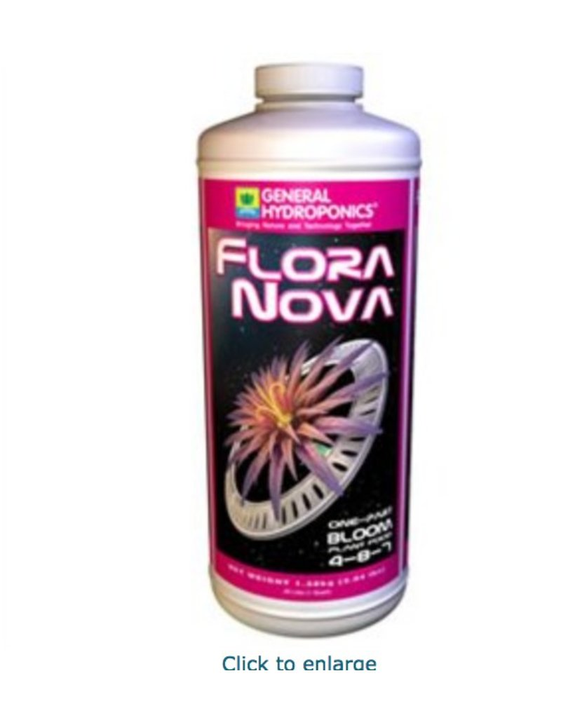 General Hydroponics GH FloraNova Bloom - 1 Quart / 1 Liter