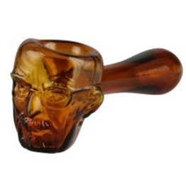 "Heisenberg Glass Hand Pipe - 4.5"""