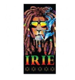 "Irie Lion Beach Towel - 28"" x 58"""