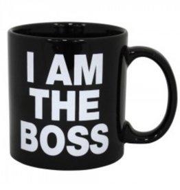Oversized I Am The Boss Mug