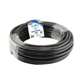 "Hydro Flow Hydro Flow Vinyl Tubing Black 1/2 ""  ID - 5/8 "" - 100 ft (ROLL/BOX)"