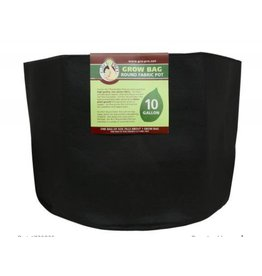 Gro Pro Gro Pro Premium Round Fabric Pot 10 Gallon Black