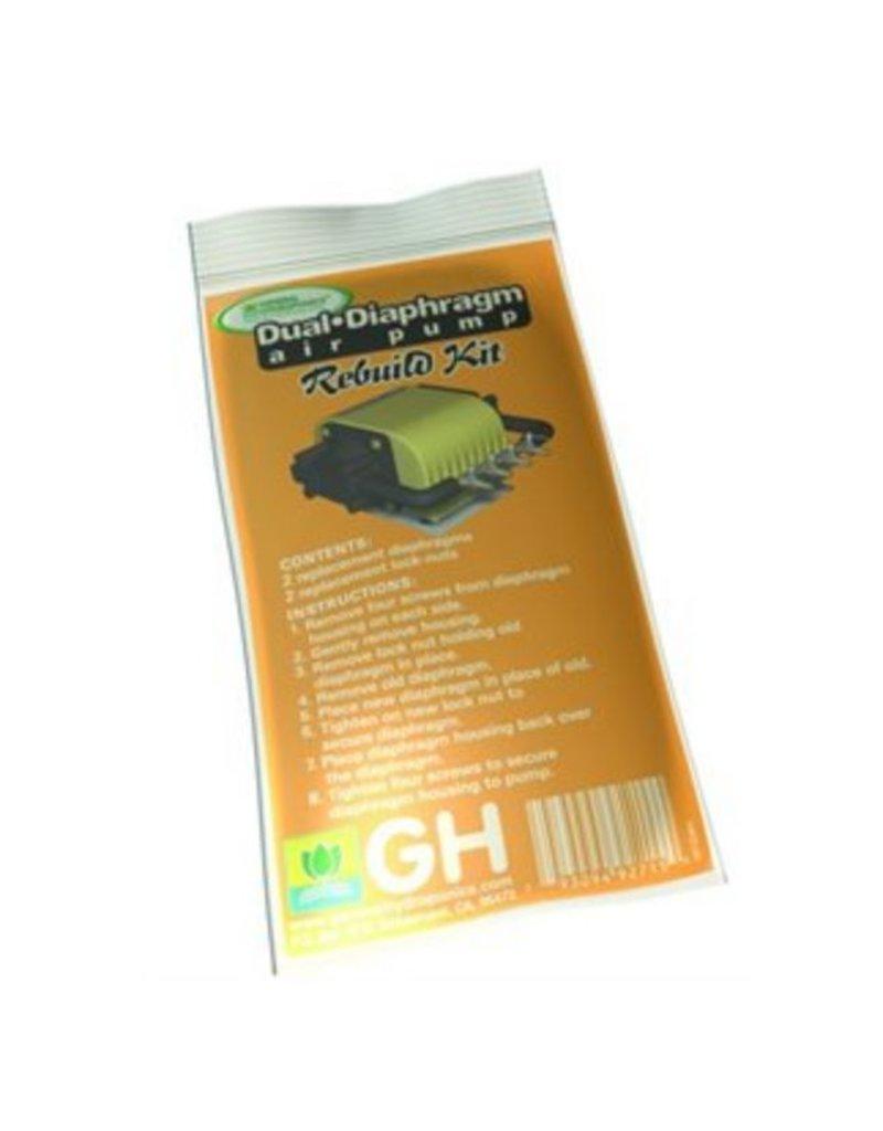 General Hydroponics GH Dual Diaphragm Rebuild Kit