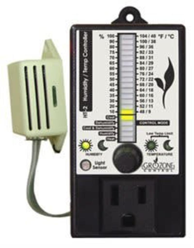 GroZone GroZone HT2 D/N Digital Controller T and RH Display