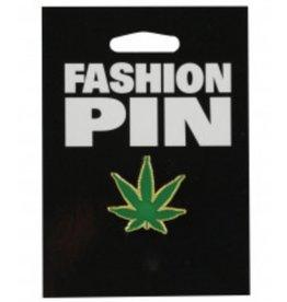 "Lapel Pin - Herb Leaf 1"""
