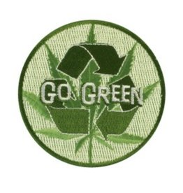 "3"" Go Green Patch"