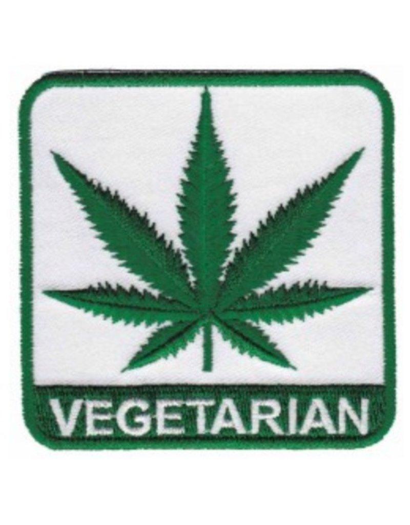 """3"""" Vegetarian Hemp Leaf Patch"""