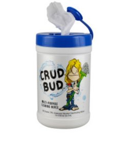 Crud Bud Crud Bud Multipurpose Cleaning Wipes - Tub