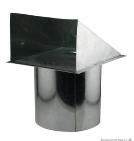 Ideal Air Ideal Air Screened Wall Vent 12 in
