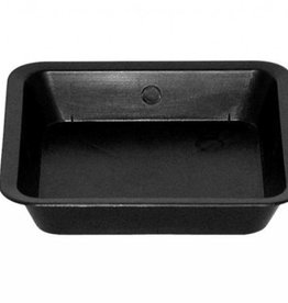 Gro Pro Gro Pro Black Square Saucer For 2 Gallon Pot