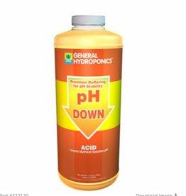 General Hydroponics GH pH Down Liquid Quart