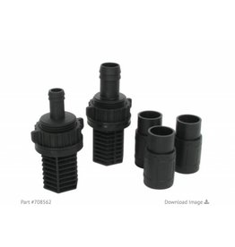 Hydro Flow Hydro Flow Ebb & Flow Fitting Kit