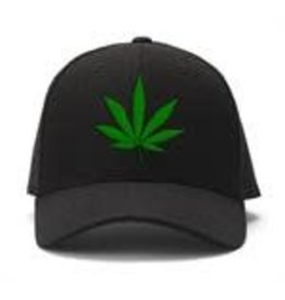 Herbal Leaf Embroidered Ball Cap