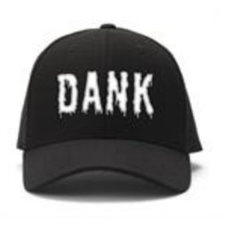 Black Ball Dank Embroidered Cap