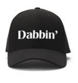 Black Ball Dabbin' Embroidered Cap