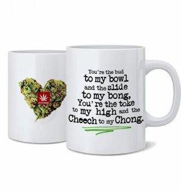 Stonerdays Cheech To My Chong Nug Mug