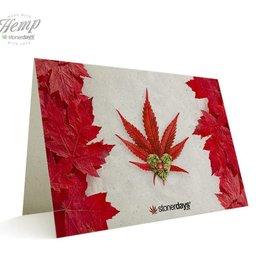 Stonerdays Canada Love Hemp Card