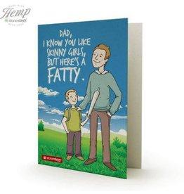 Stonerdays I Know You Like Skinny Girls Card