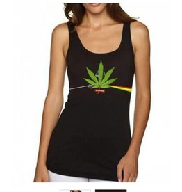 Stonerdays Women's Dank Side Of The Moon Tank  X-Large