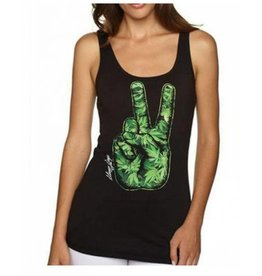 Stonerdays Women's Peace Out Tank Large