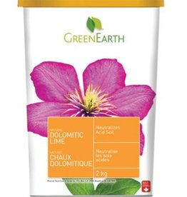 Green Earth GRE 2KG Dolomitic Lime Tub
