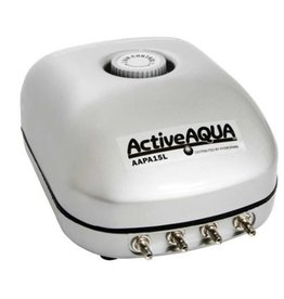 Active Aqua Hydroculture ACT Active Aqua Air Pump 4 Outlet 10w 15L Min
