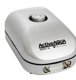 Active Aqua Hydroculture ACT Active Aqua Air Pump 2 Outlet 3w 7.8 LPM