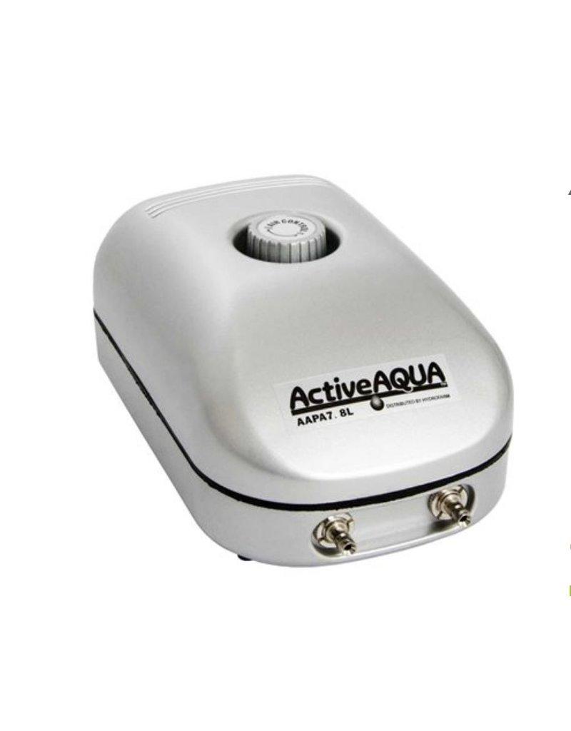 Active Aqua Hydroculture Active Aqua Air Pump 2 Outlet 3w 7.8 LPM