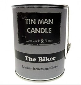 Wax Wick & Flame Wax Wick & Flame Tin Man Candle - Biker/ Leather Jackets & Chaps