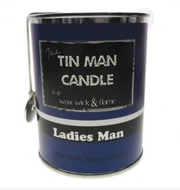 Wax Wick & Flame Wax Wick & Flame Tin Man Candle - Ladies Man/ The Babe Magnet Scent