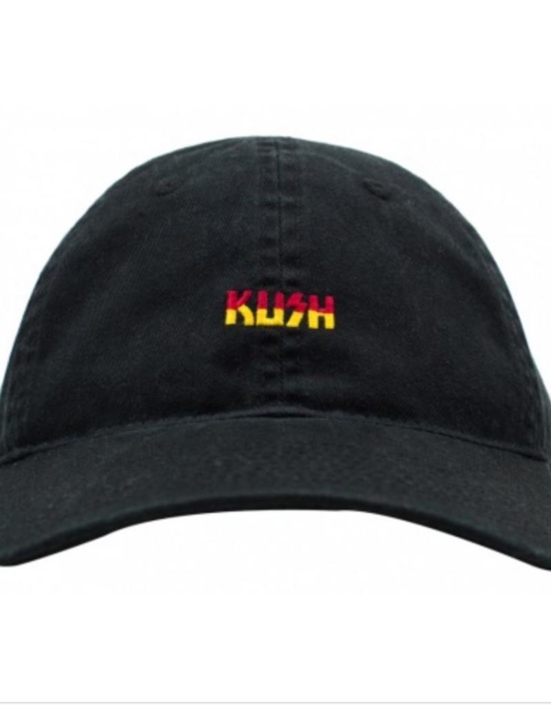 ce365ab9f7d58 No Bad Ideas - Kush - Dad Hat Black - Green Corner