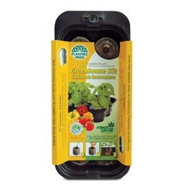 Planters Pride HC 10 Fiber Grow COCO Coir Pellet  Greenhouse Kit