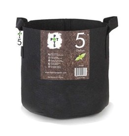 Pot Pots 5 Gallon Fabric Pot w/ Handles