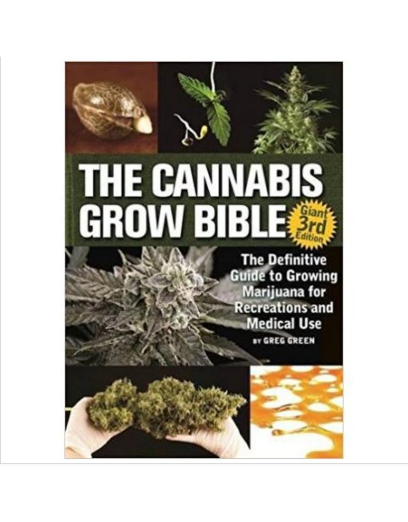 Cannabis Grow Bible Ver. 3 by Greg Green