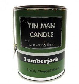 Wax Wick & Flame Wax Wick & Flame - Tin Man Candles - Lumberjack