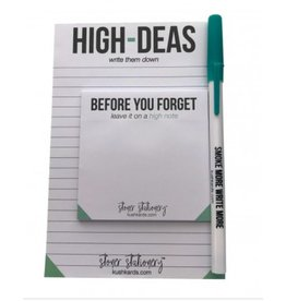 Kushcards Stoner Stationary - High Ideas Set