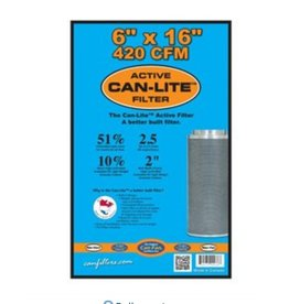 Can-Filter Can Filters Can-Lite Mini Carbon Filter 420CFM 6' x 16'