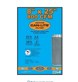 "Can-Filter Can Filters Can-Lite Mini Carbon Filter 800 CFM 8""x 25"""