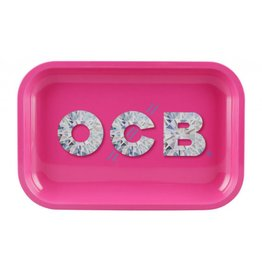 OCB OCB Diamond Metal Rolling Tray Medium
