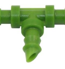 FloraFlex Flora Flex 1/4 in Barbed Tee Fitting - Single
