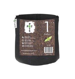 Pot Pots 1 gal Fabric Pot - No Handles