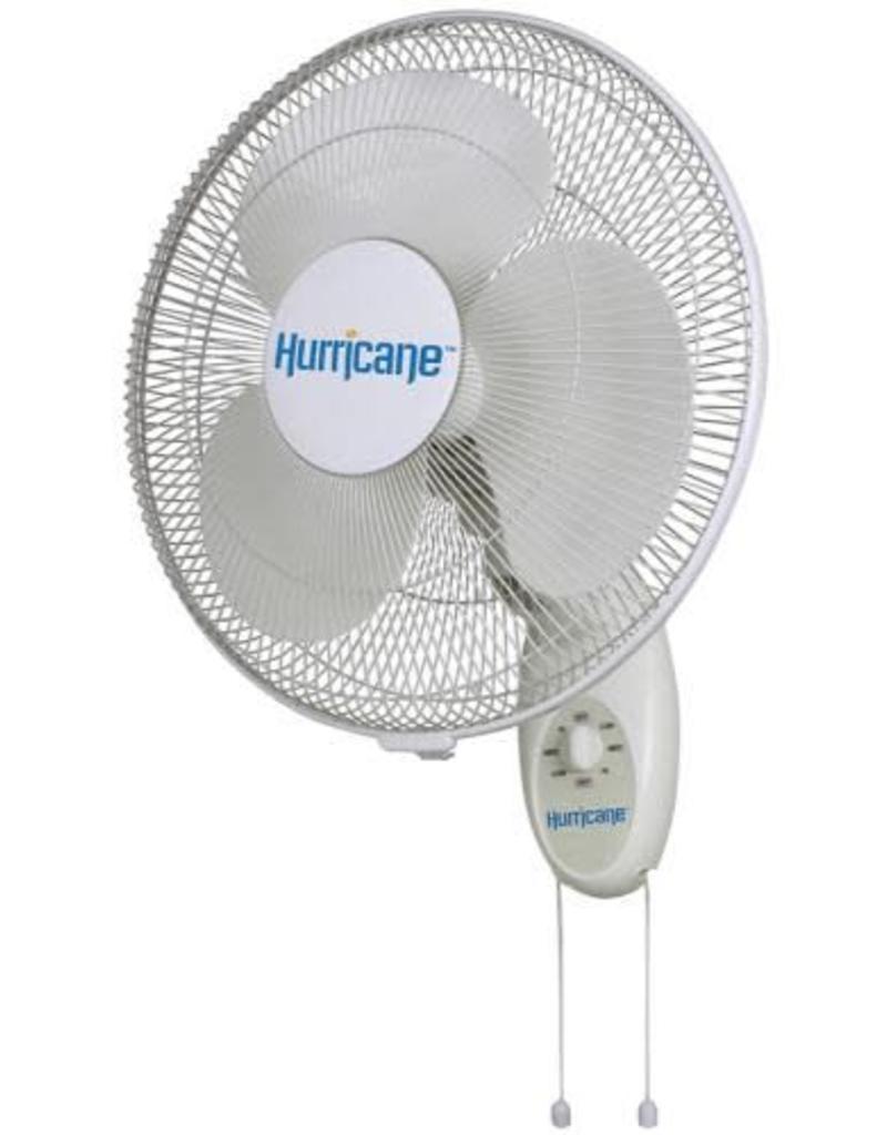 Hurricane Hurricane Supreme Oscillating Wall Mount Fan 16 in