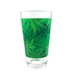 Stonerware Stonerware Pint Glass - Vivid Leaf Pattern