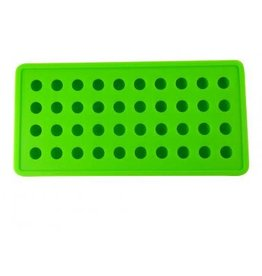 Dope Molds Silicone Gummy Mold - 40 Cavity Ice Ball Mold - Green