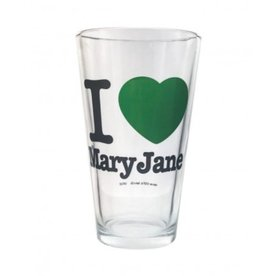 Stonerware Stonerware Pint Glass - I Love Mary Jane