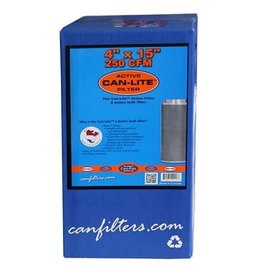 "Can-Filter Can-Filters Can-Lite Carbon Filter 250 CFM 4"" x 15"""